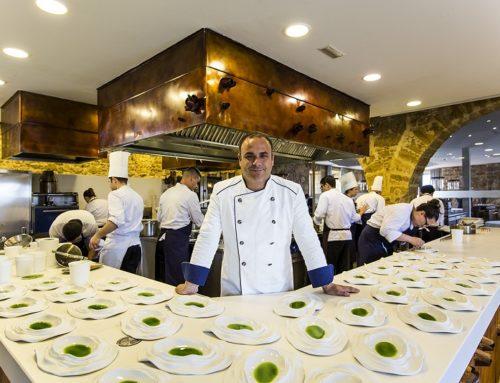 El chef Ángel León, tres estrellas Michelín, protagonista del programa gastronómico en H&T